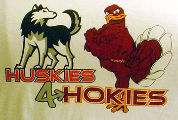Huskies 4 Hokies